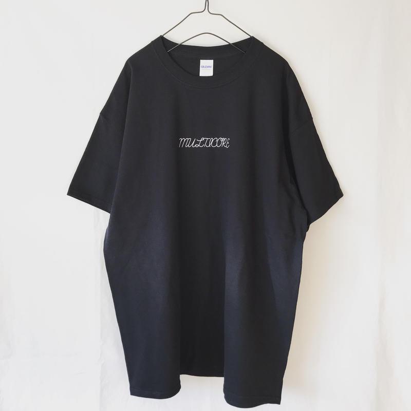 MULTICORE ロゴT  XL ブラック