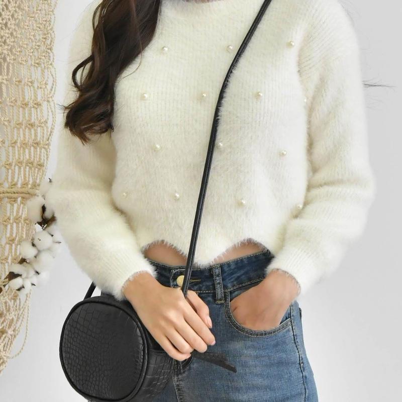 angora pearl knit