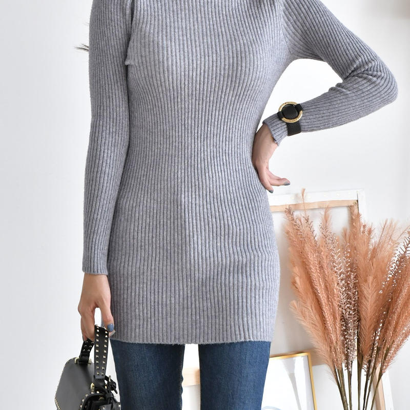 daily turtle neck knit