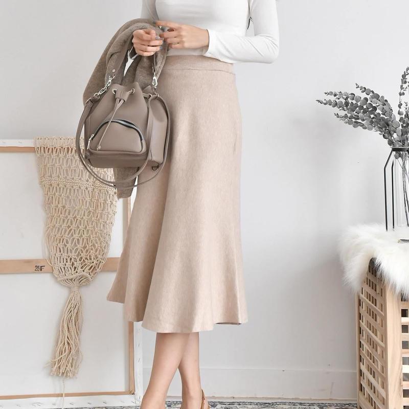 knit mermaid skirt