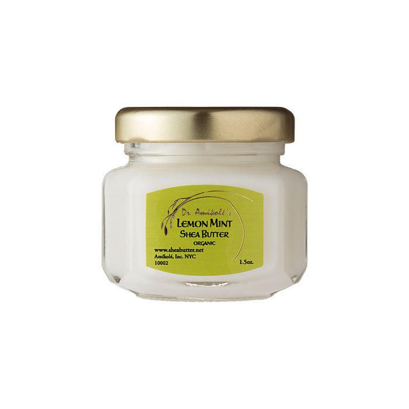 LEMON-MINT SHEA BUTTER (1.5oz / 42.5g)