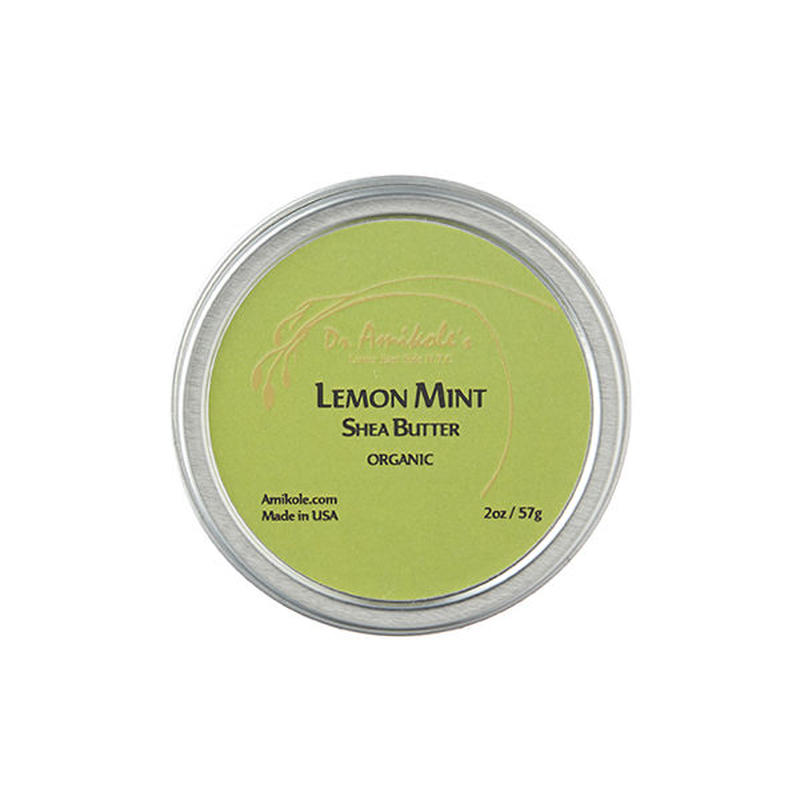 LEMON MINT SHEA BUTTER (2oz/57g )