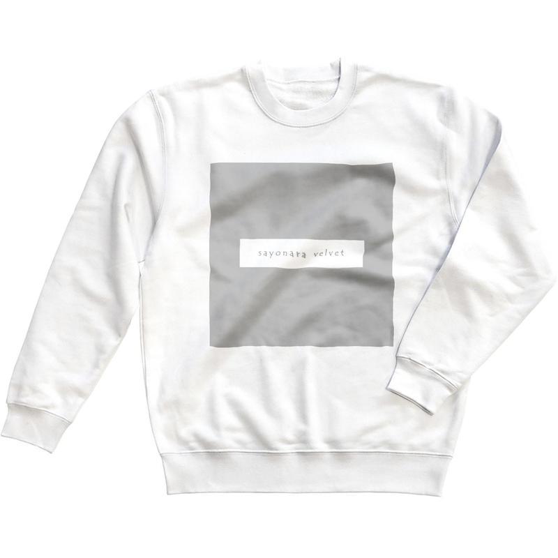 「スクエア」スウェット / 001 (white)