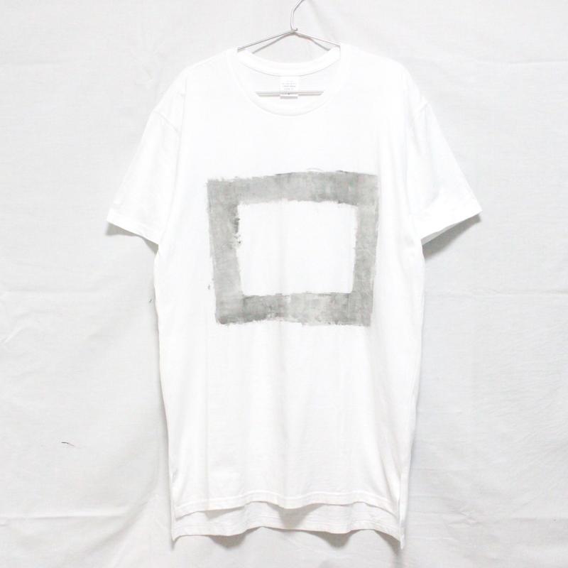 「□ - 001」Tシャツ / white