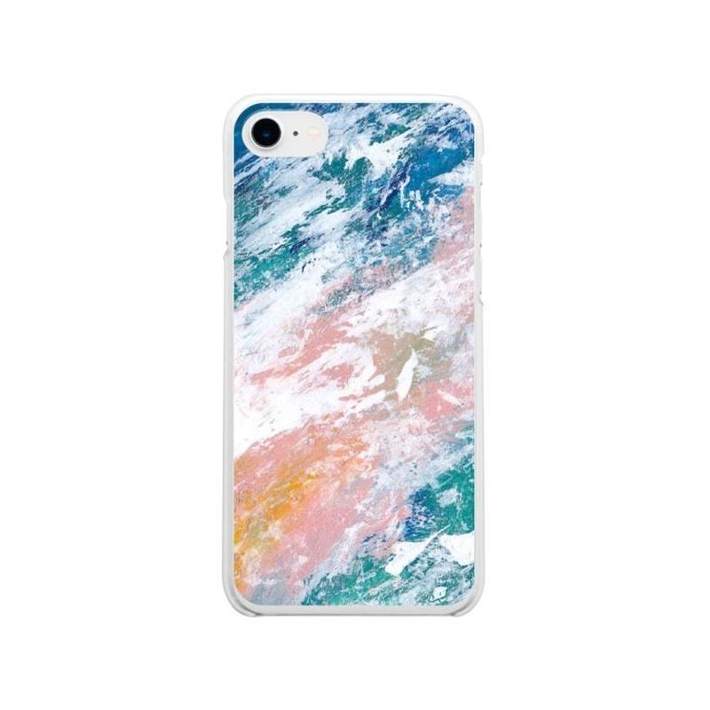 「海と小春」クリアiPhoneケース / 008