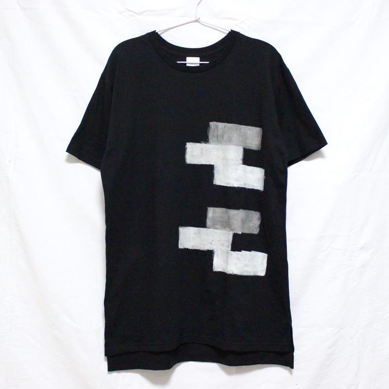 「□ - 002」Tシャツ / black