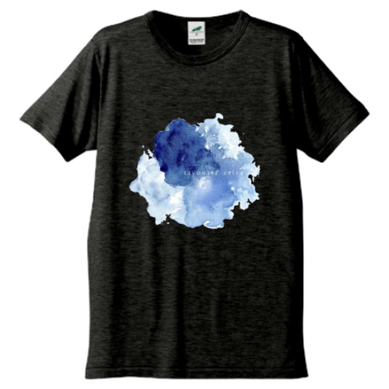 「ゆらぎ」Tシャツ / 004 (black)