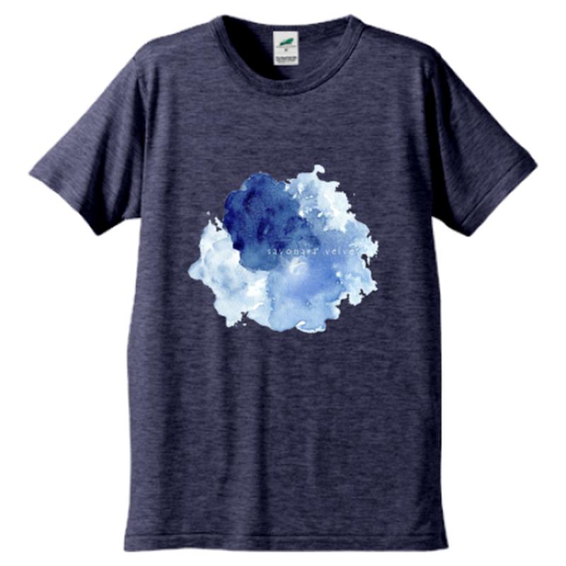 「ゆらぎ」Tシャツ / 003 (navy)