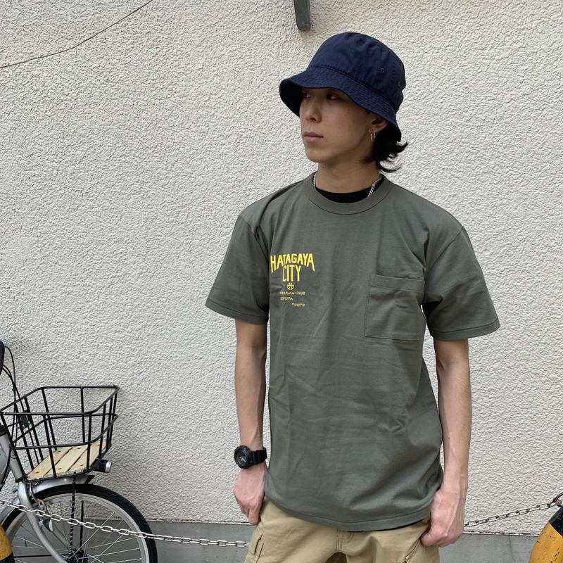 渋谷区コラボ hatagayacity  ポケットT