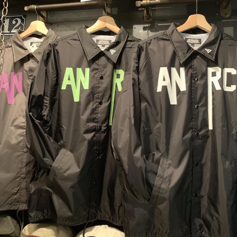 新作 anarc コーチジャケット