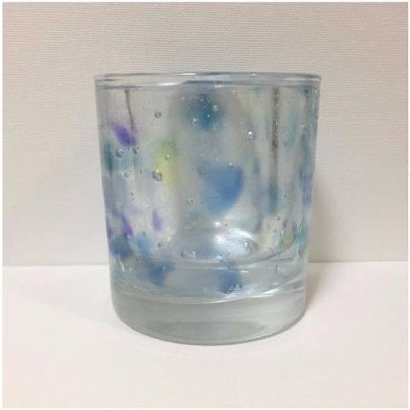 Blue Candle Holder (MARU)