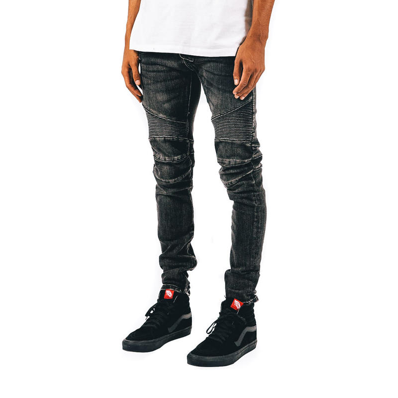 mnml / M14 STRETCH DENIM / BLACK