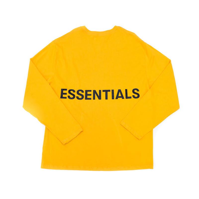 FOG  Essentials Boxy Graphic Ls Tee / YELLOW