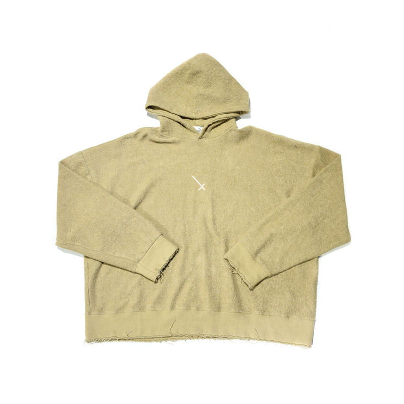 COMP®︎EX / INSIDEOUT PULLOVER HOODIE / BEIGE