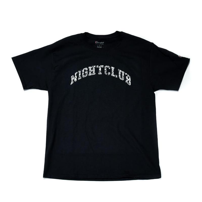 NIGHT CLUB /GRAPHIC LOGO  SS TEE / BLACK