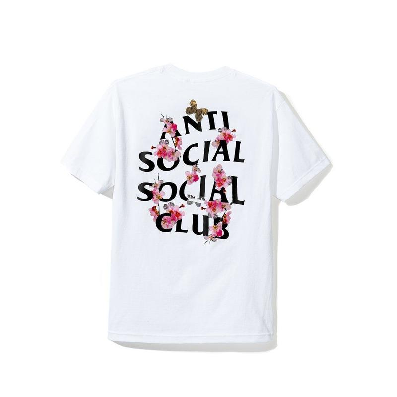 ANTI SOCIAL SOCIAL CLUB Kkoch TEE  / WHITE