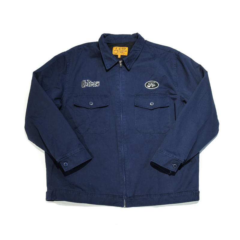 FTP / WORK JACKET / NAVY