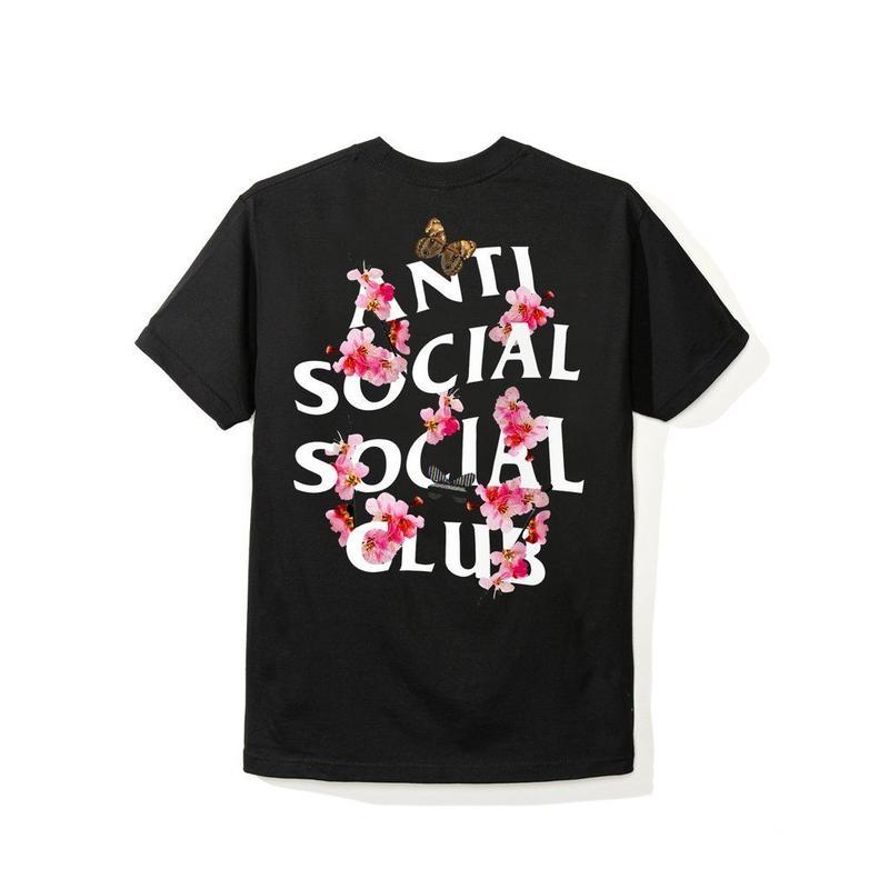 ANTI SOCIAL SOCIAL CLUB  Kkoch TEE / BLACK