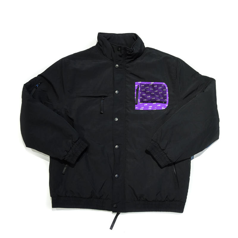FTP / PUFF JACKET / BLACK