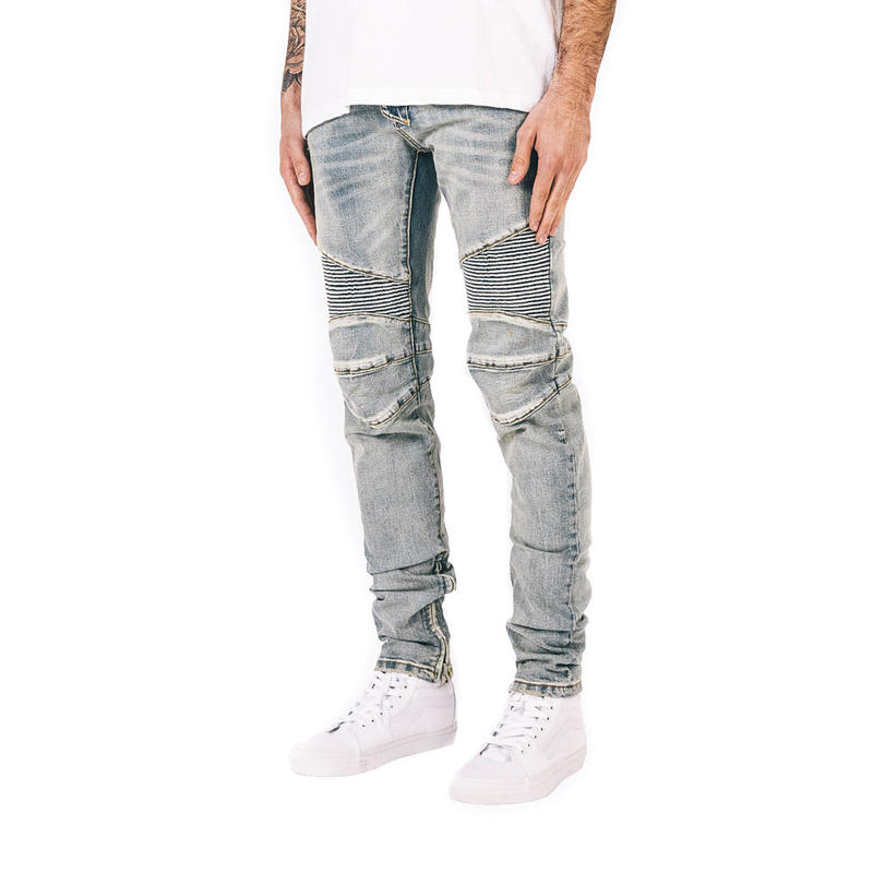 mnml / M14 STRETCH DENIM / LIGHT BLUE