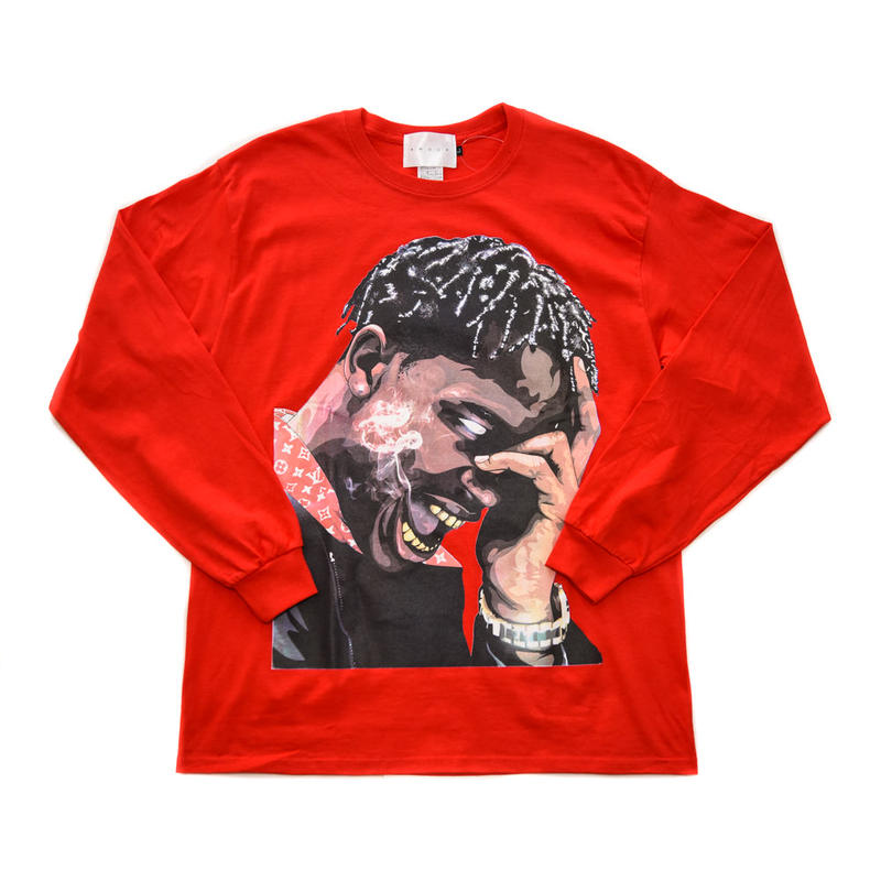 LS TEE LA FLAME / RED