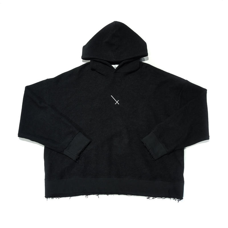 COMP®︎EX / INSIDEOUT PULLOVER HOODIE / BLACK