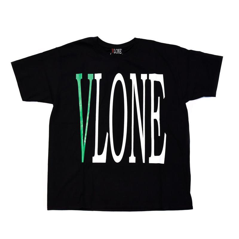VLONE  LOGO TEE / BLACK _ GREEN