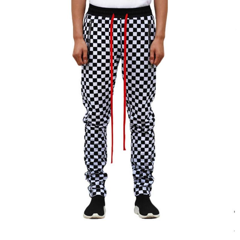 URKOOL / BOARD PANTS /BLACK_WHITE