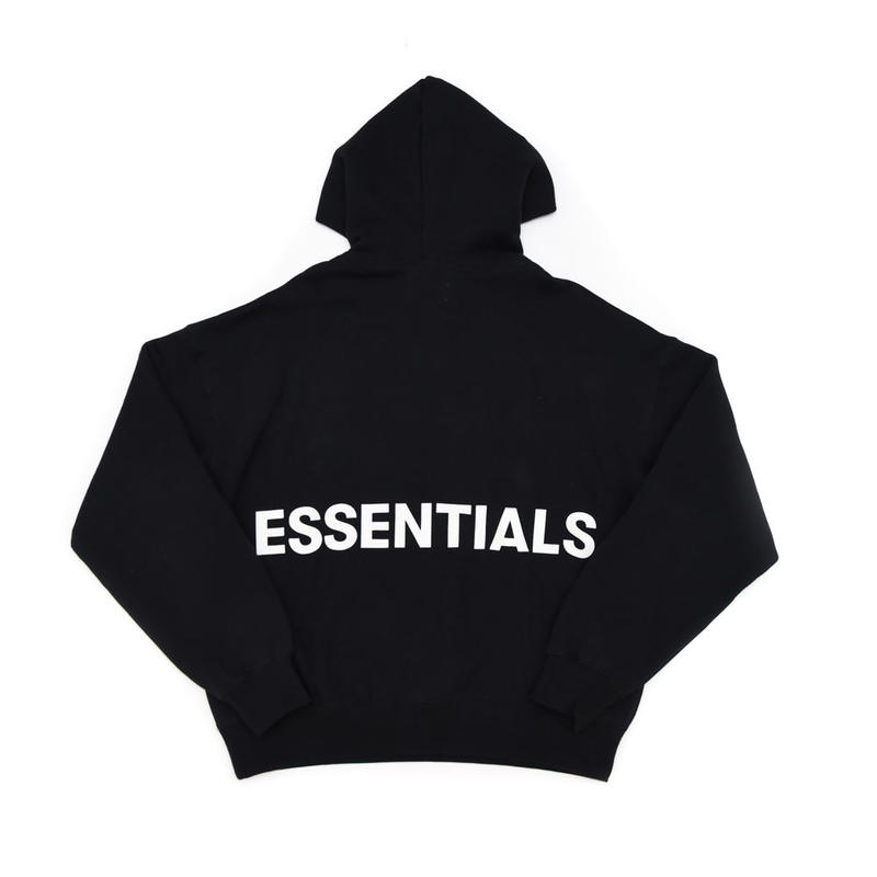 FOG  Essentials Graphic Pullover Hoodie / BLACK