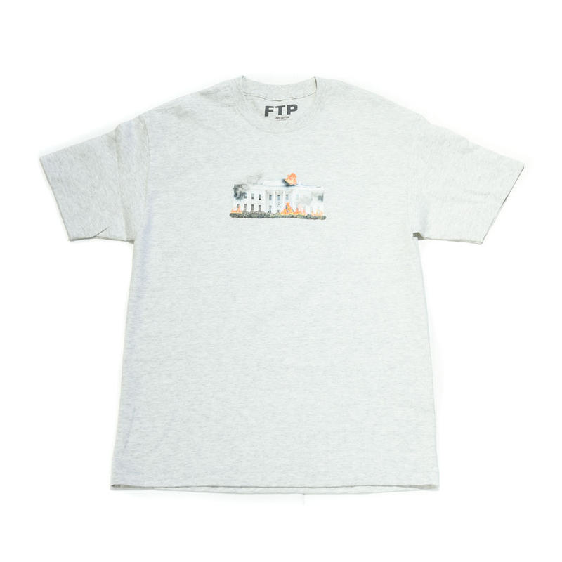 FTP /  WHITE HOUSE SS TEE / GRAY