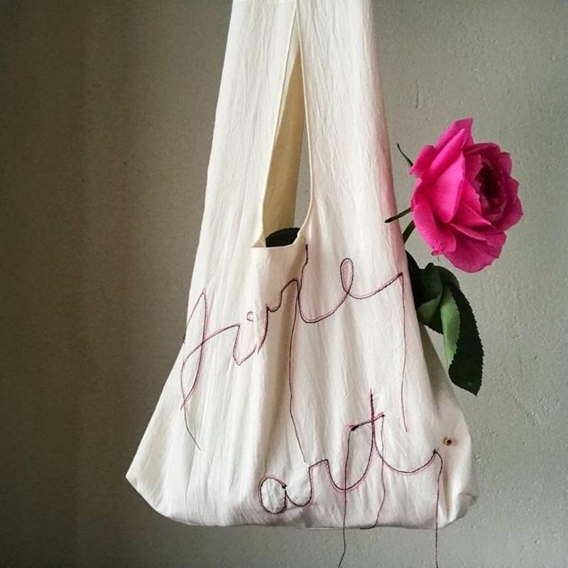 marche bag (white)