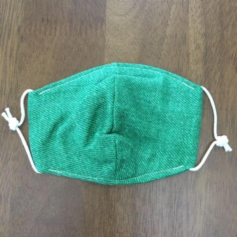 デニム風 green kids mask
