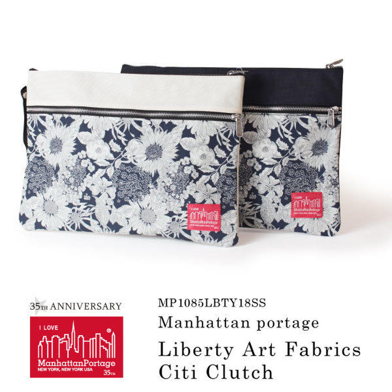 Manhattan Portage マンハッタンポーテージ クラッチバッグ Liberty Art Fabrics Citi Clutch MP1085LBTY18SS