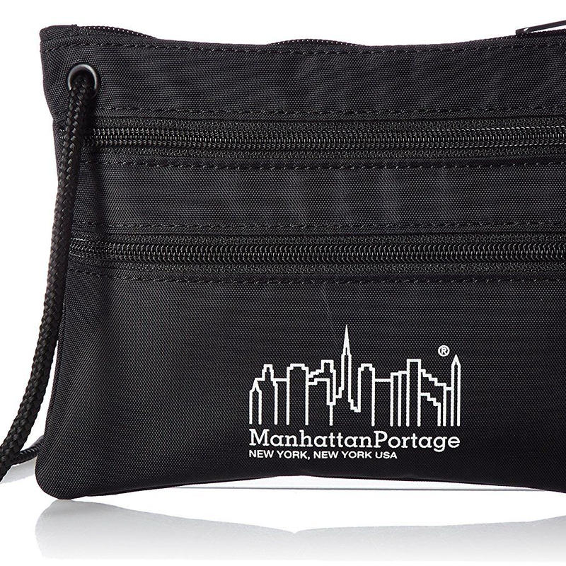 Manhattan Portage(マンハッタンポーテージ) ショルダーバッグ Triple Zipper Pouch サコッシュ TRIPLE ZIP POUCH MPTZP