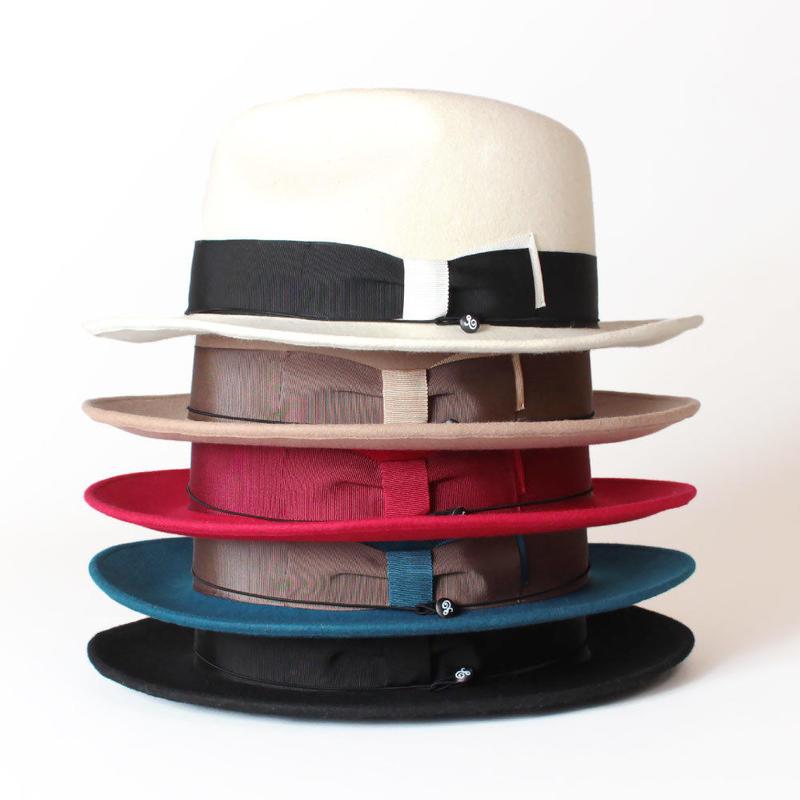 ANAGRAM アナグラム 日本製 つば広帽子 ウールフェルトハット 中折れハット 大きいサイズ 帽子 AGM1421 M58cm L61cm Made in JAPAN AGM1421