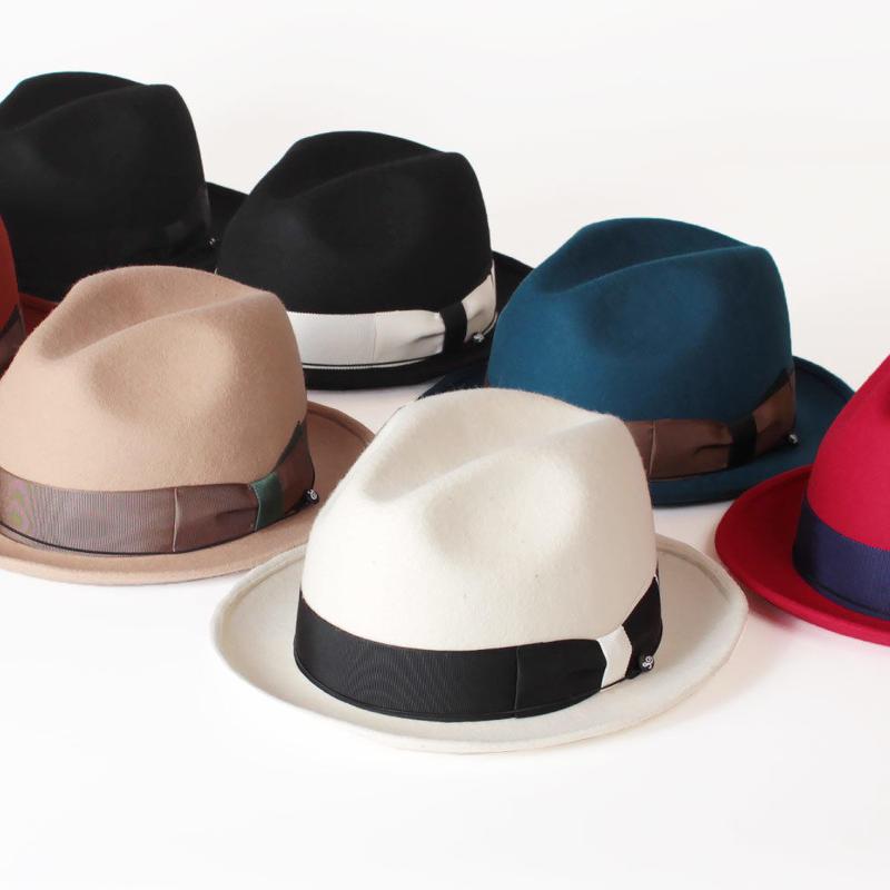 ANAGRAM アナグラム 日本製 フェルトハット 中折れハット 帽子 小さいサイズ 帽子 AGM1420 S57cm M59cm Made in JAPAN AGM1420