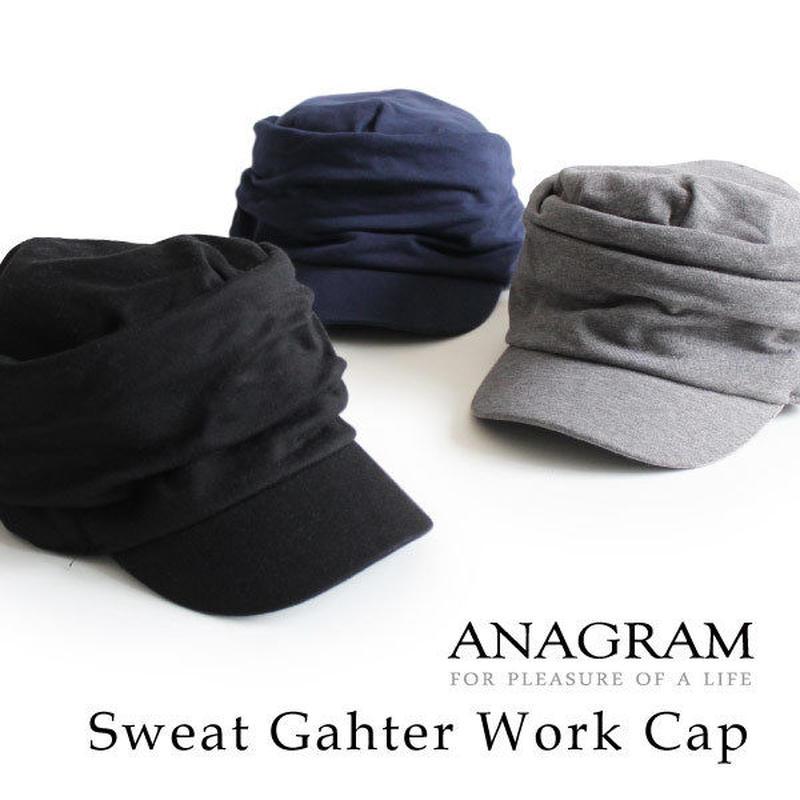 ANAGRAM アナグラム ワークキャップ スウェットギャザーキャップ 帽子 AGM1810