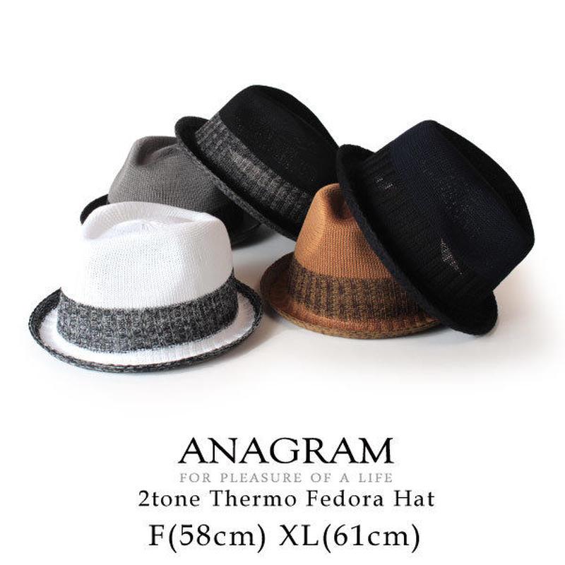 ANAGRAM アナグラム サーモハット 中折れハット 大きいサイズ 帽子 XLサイズあり AGM1805