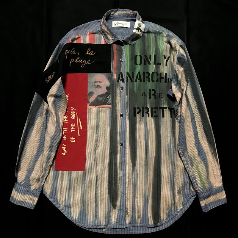 Newアナーキーシャツ メンズXL  サイモンtype