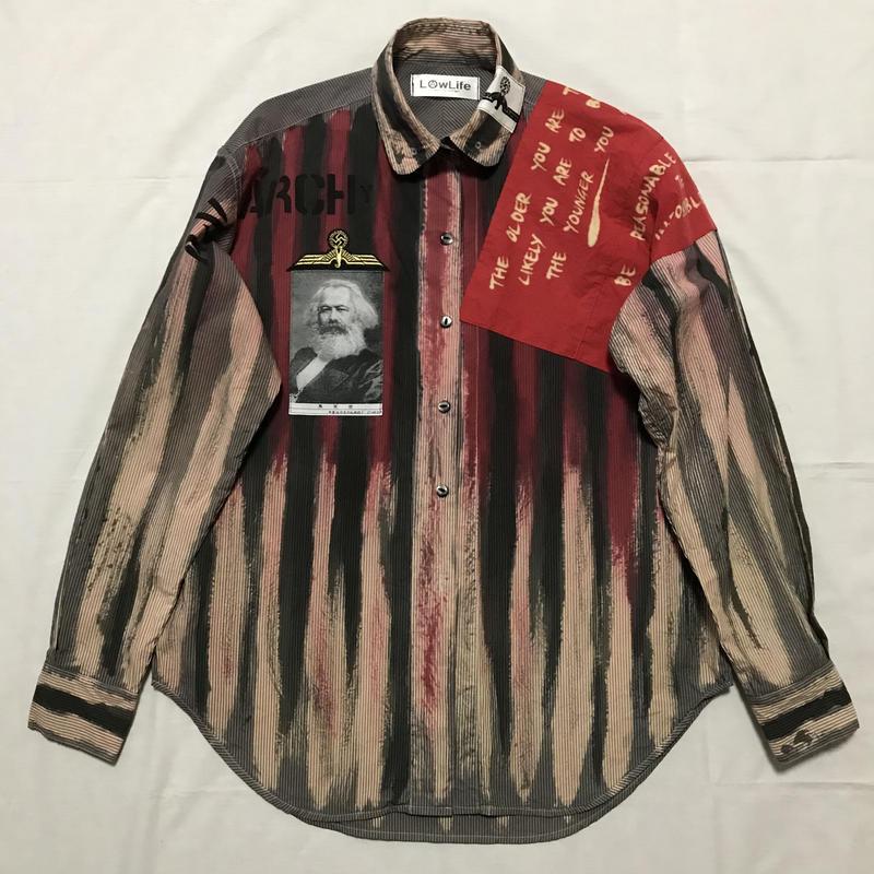 Newアナーキーシャツ メンズM  ジョニーtype 026