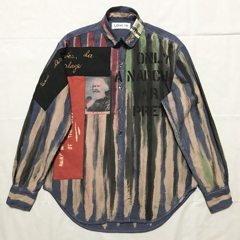 Newアナーキーシャツ メンズM  サイモン023