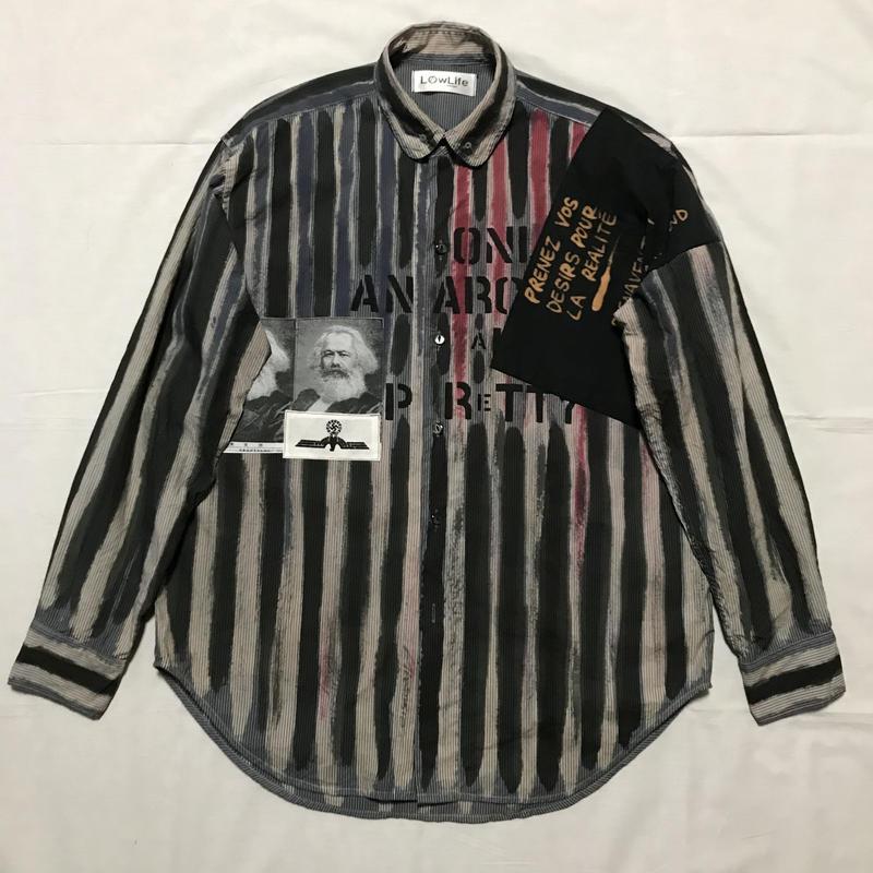 Newアナーキーシャツ メンズL  アダムアント025