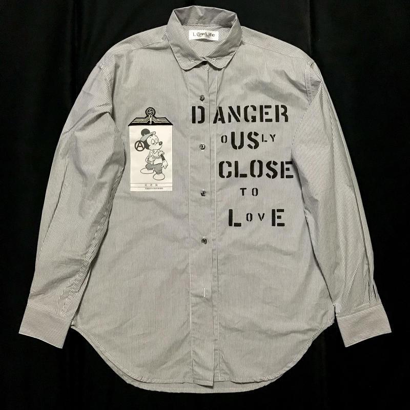 New Dangerouslyシャツ メンズXL  ヘロインミッキー