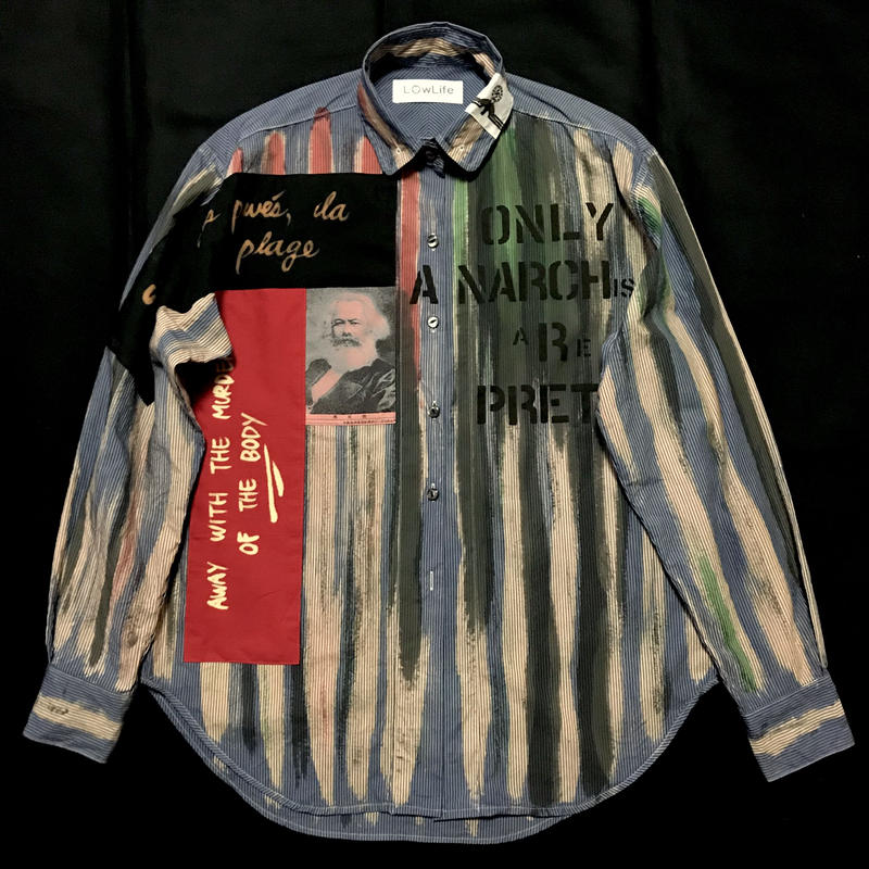 Newアナーキーシャツ メンズM  サイモンtype
