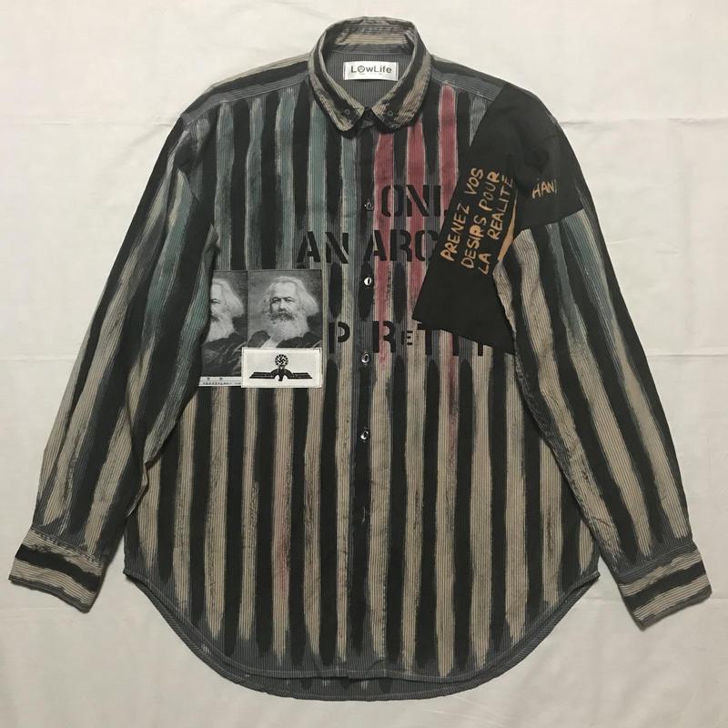 Newアナーキーシャツ メンズL  アダムアント034