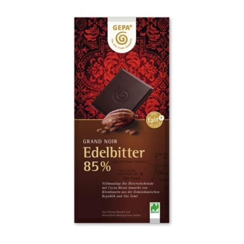 ゲパ グランノワール オーガニック ダークチョコレート ハイカカオ 85%