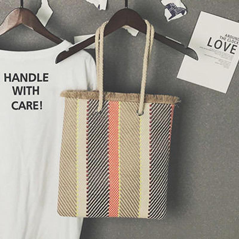 4color fringe tote bag/4カラー フリンジ トートバッグ