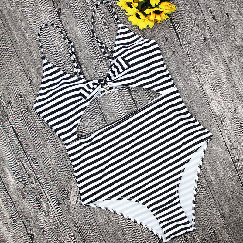 stripe swim wear/ストライプ スイムウェア 水着