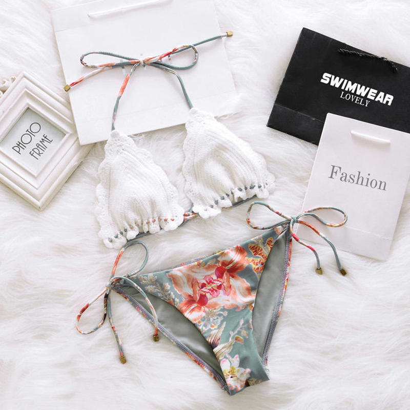 flower print bikini/フラワー プリント ビキニ