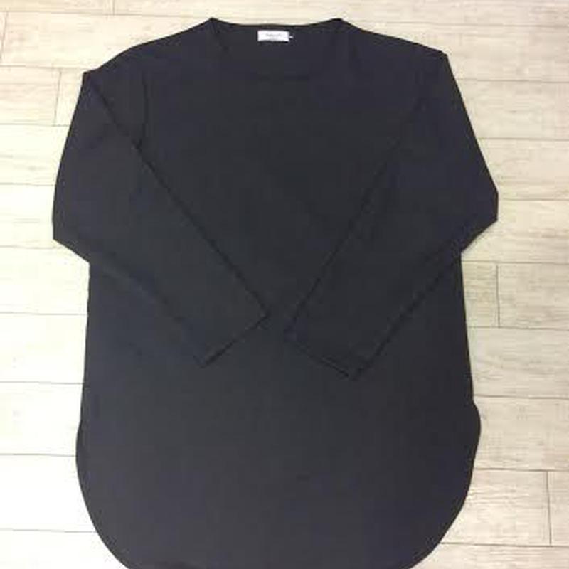 プルオーバー ロングシャツ